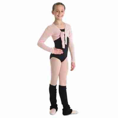 meisjes balletvest hazel lange mouwen bloch cz09898