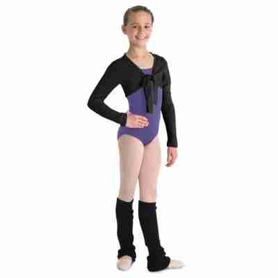 zwarte Bloch meisjes Ballet vestje Hazel CZ09898