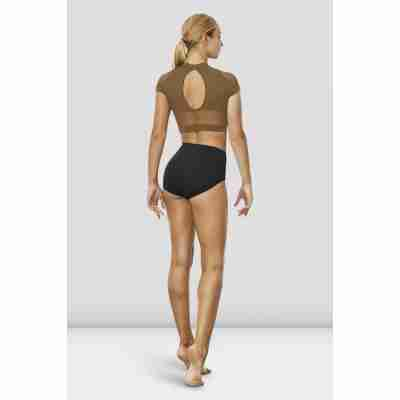 Bloch Ballet Top Z7830 Hanae Almond achterkant