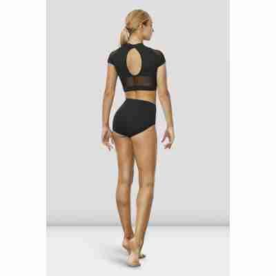 Bloch Ballet Top Z7830 Hanae zwart achterkant
