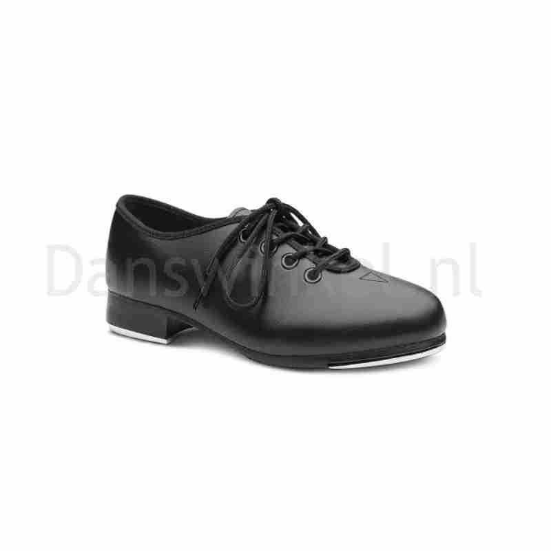 Bloch Economy SF3710G Jongens en Meisjes Tap dansschoenen met Vetersluiting zwart