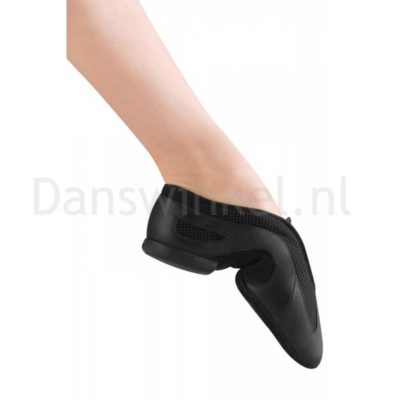 Bloch Slipstream ES0485L Zwarte Jazzschoenen Instapmodel