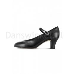 Bloch Kickline PU Stage Shoes Black