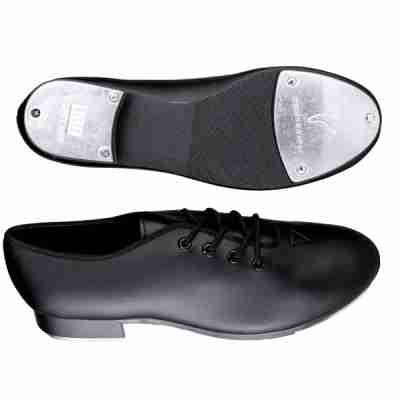 Zwarte tap dans schoenen Bloch Economy Jazz SF3710 met techno taps tapijzers