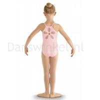 Bloch Begonia Heart Mesh Flower Cami Leotard CL8097