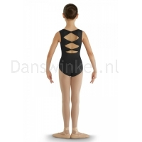 Bloch Childrens Gladiolus Leotard Zwarrt
