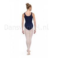 Bloch Adagio Tank leotard with Pinch Front Navy
