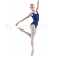 Bloch Adagio Tank leotard with Pinch Front Blauw