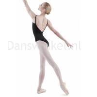 Bloch Royal Pinch Front & Back Leotard Zwart