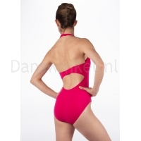 Bloch Cinnamon Ladies Halterneck Twist Front Leotard