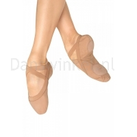 Bloch Pro Elastic Canvas Ballet Shoe Flesh