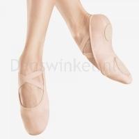 Bloch Canvas Infinity Stretch Ballet Shoe Flesh