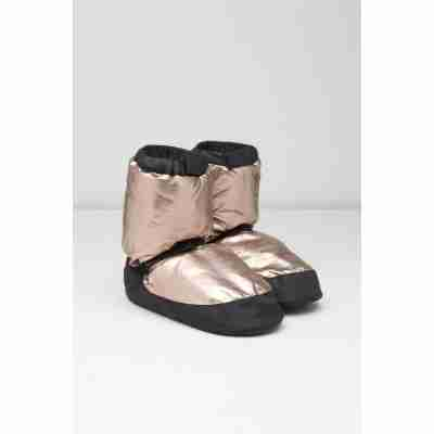 Bloch Metallic Warm-up Bootie IM009MT gold