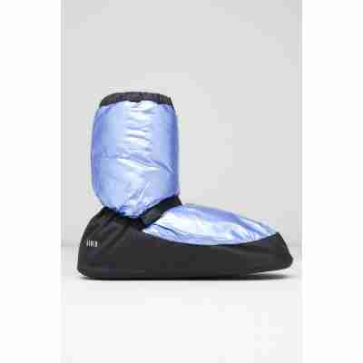 Bloch Metallic Warm-up Bootie IM009MT ligh blauw