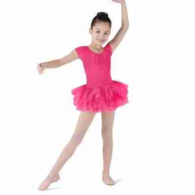 Bloch Ife CL8012 Meisjes balletpakje met tutu fuchsia