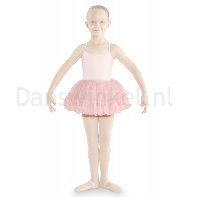 Bloch Addelyn Heart Mesh Tutu Skirt CR8111 Roze