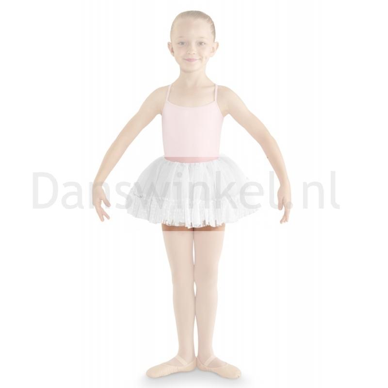 Bloch Addelyn Heart Mesh Tutu Skirt CR8111 Wit