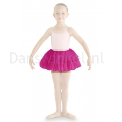 Bloch Addelyn Heart Mesh Tutu Skirt CR8111