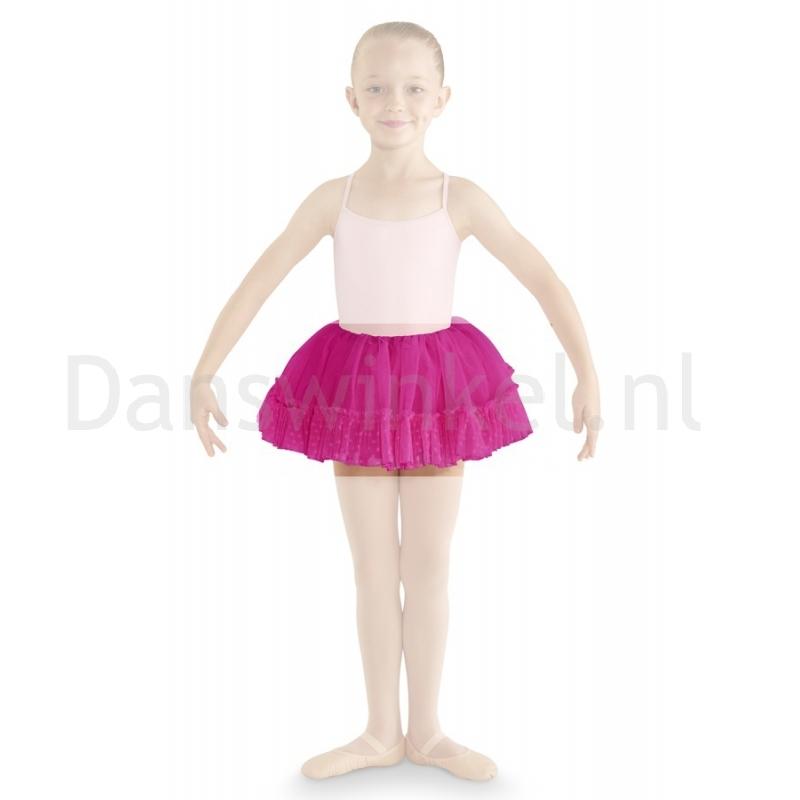 Bloch Addelyn Heart Mesh Tutu Skirt CR8111