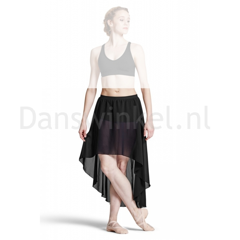 Bloch Daria Georgette Hi Low Rok Met Shorts