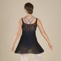 Bloch Emerge Ladies Panelled Black Mesh Dress
