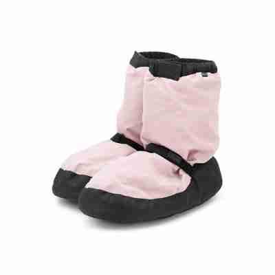 Bloch Warm-up Ballet Bootie Boots IM009 Zalm-Roze om de voeten warm te houden