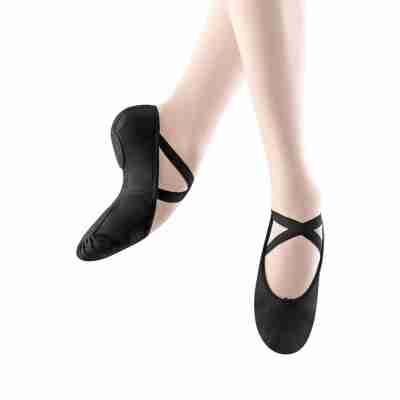 Bloch Zenith Stretch Canvas Balletschoen Zwart