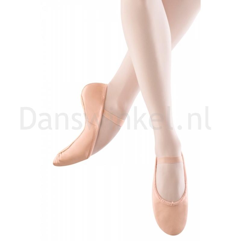 Bloch Dansoft Leather Ballet Shoe Roze