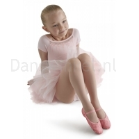 Bloch Glitterdust Full Sole Ballet Shoe Roze
