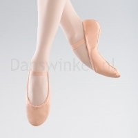 Bloch Dansoft Leather Ballet Shoe Roze