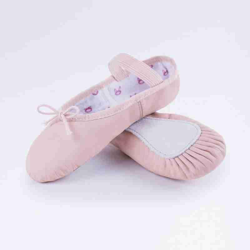 Bloch Bunnyhop Leather Ballet Shoe Pink S0225