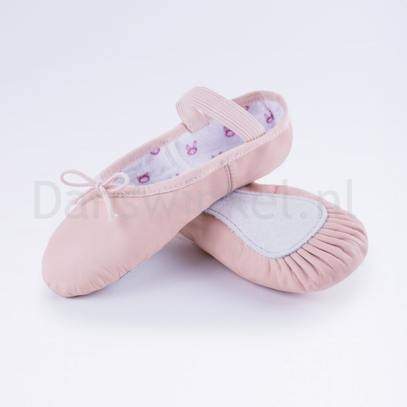 Bloch Bunnyhop Leather Ballet Shoe Pink S0225