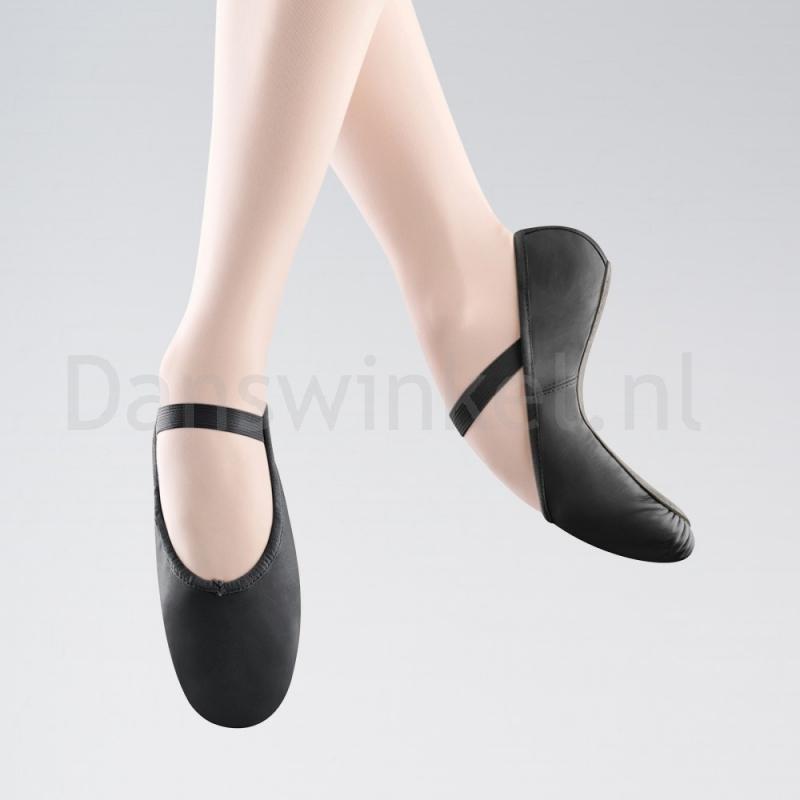 Bloch Arise Lederen Balletschoen Volledige Zool