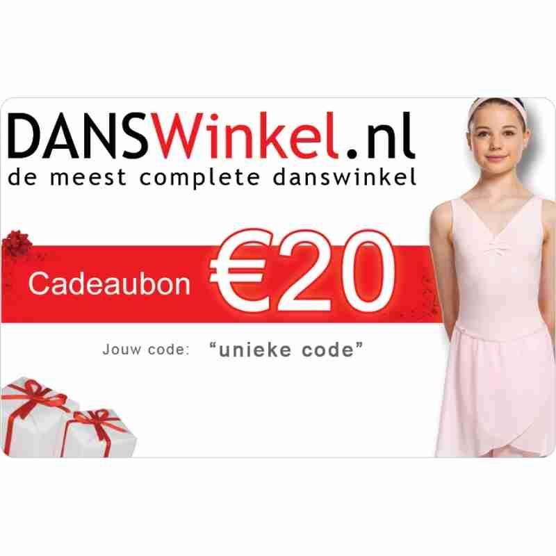 Danswinkel Cadeaubon 20 Euro