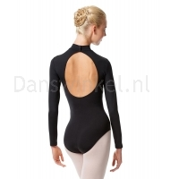 Long Sleeve Mock Turtle Leotard Liana