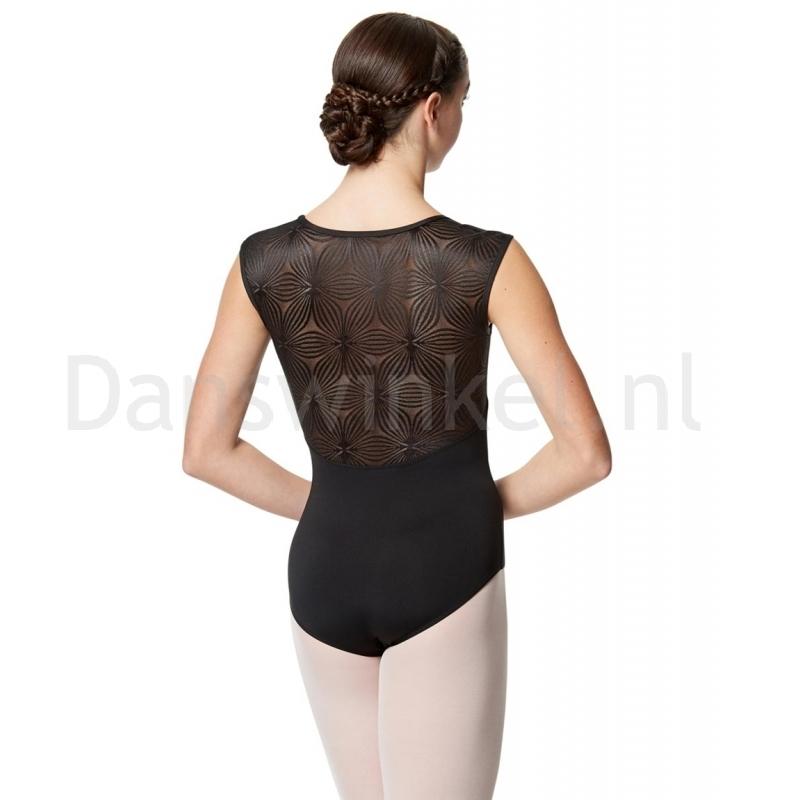 Calla dames Balletpak met lange mouwen Jojo achter