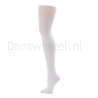 Capezio Ultra Soft Self gebreide band Transition Tights 1916 - wit