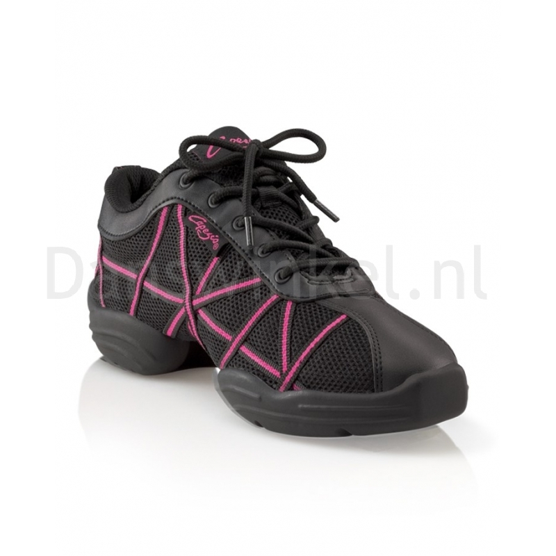 Capezio Web DS19 Dames Danssneakers Vetermodel