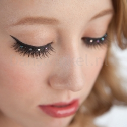 Capezio Rhinestone Performance Lashes BH606