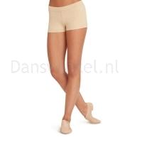 Capezio Laag uitgesneden Shorts nude