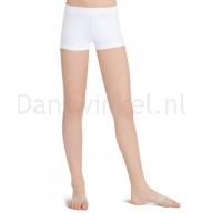 Capezio Laag uitgesneden Shorts wit