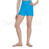 Capezio Hoog getailleerde shorts meisjes licht blauw