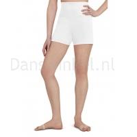Capezio Hoog getailleerde shorts wit