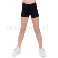 Capezio Hoog getailleerde shorts meisjes zwart