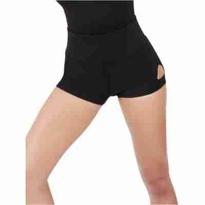 Capezio Dance Active Keyhole Short Dames zwart