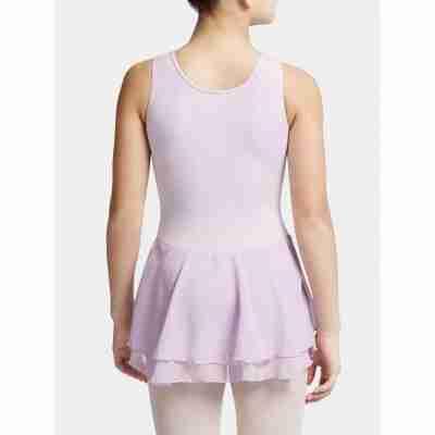 Capezio Double Layer Skirt Tank Dress lavender achter