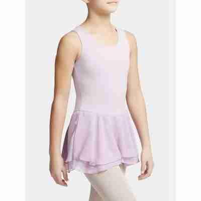Capezio Double Layer Skirt Tank Dress lavender zijkant