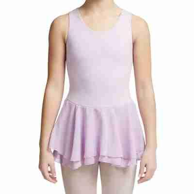 Capezio Double Layer Skirt Tank Dress lavender