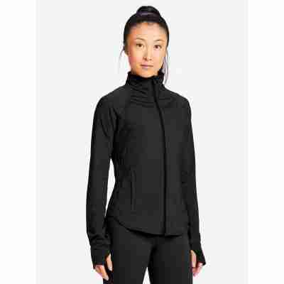 Capezio Tech Renewal Warm-Up Jacket met Rits en Duimgaten