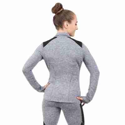 Capezio Dance Active Jacket Grijs achterkant